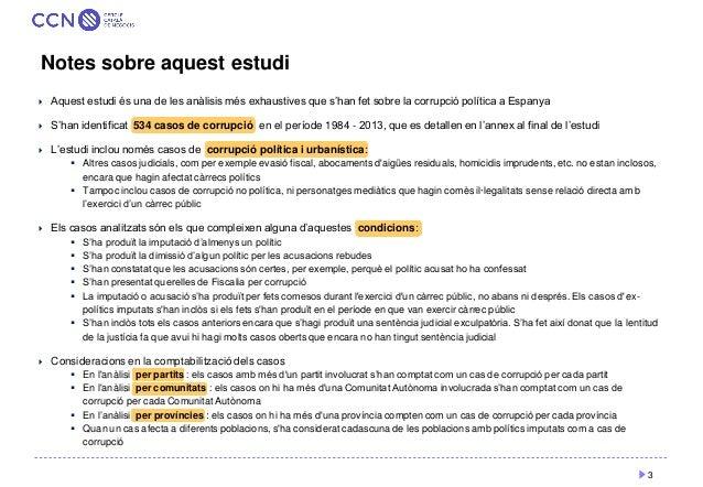 Com es distribueix la corrupció política a Espanya Slide 3