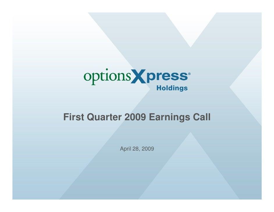 OptionsXpress Inc - Company Profile and News - Bloomberg