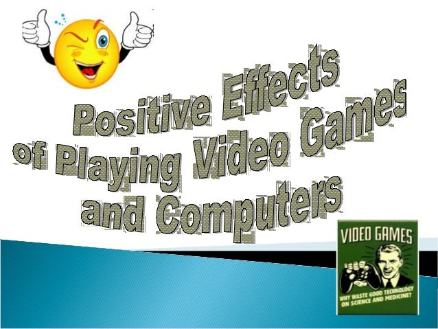 It has been found that playing video games improves a range of cognitive skills, like visuo-spatial and attention skills. ...