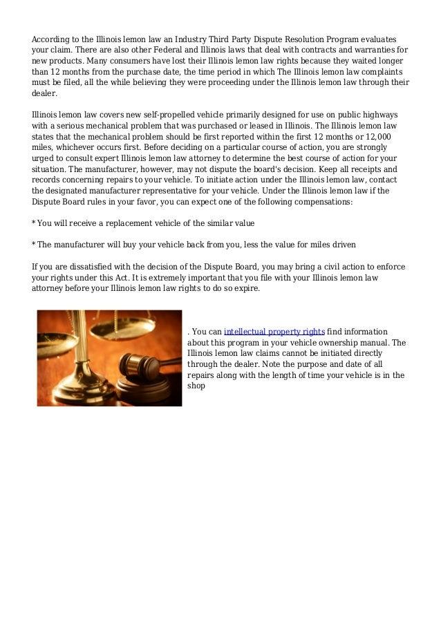 Illinois Lemon Law by John Kevin