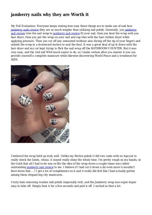 jamberry nails application instructions