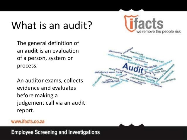 who does internal audit report to