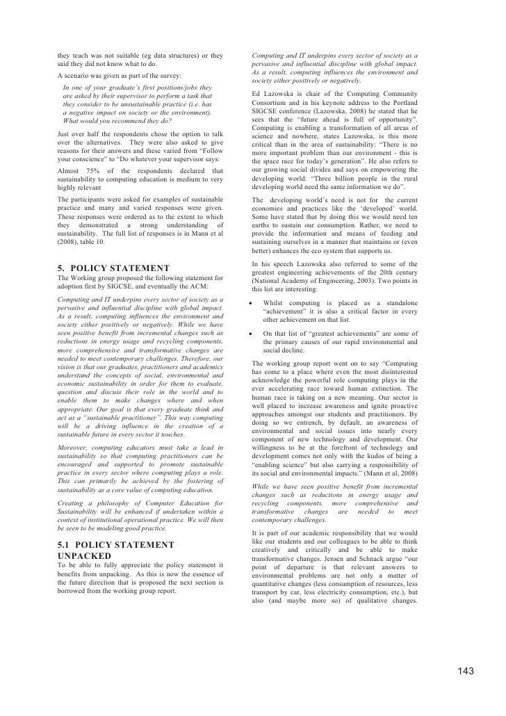 Sustainability working group updates Slide 3