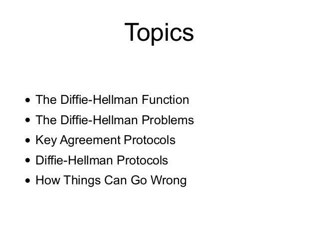 CNIT 141: 11. Diffie-Hellman Slide 2