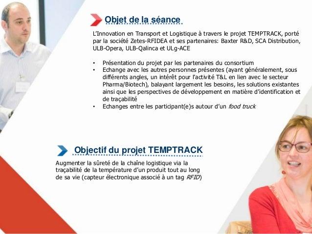 Objet de la séance  L'Innovation en Transport et Logistique à travers le projet URBANZEN, porté  par la société NSI Softwa...