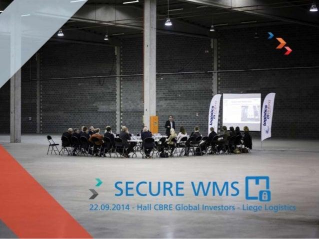 Objet de la séance  L'Innovation en Transport et Logistique à  travers le projet SECURE-WMS, porté par la  société Ingrif ...