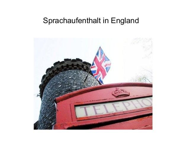 Sprachaufenthalt in England