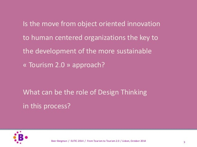 """From Tourism to """"Tourism 2.0"""" in the French hospitality industry Slide 3"""