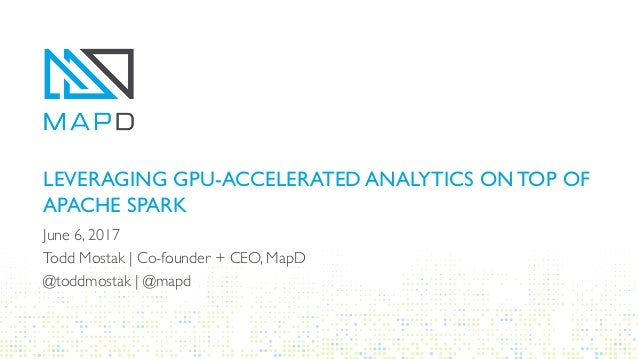 Leveraging GPU-Accelerated Analytics on top of Apache Spark