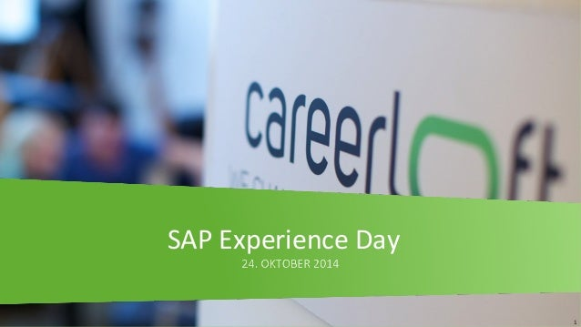 1  SAP Experience Day
