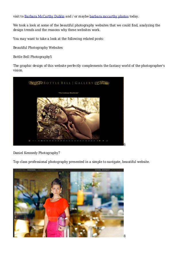 professional photography websites