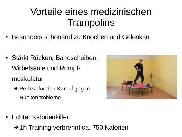 Ein medizinisches Trampolin für Sie Slide 3