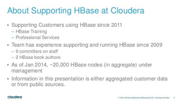 Apache HBase Application Archetypes Slide 3