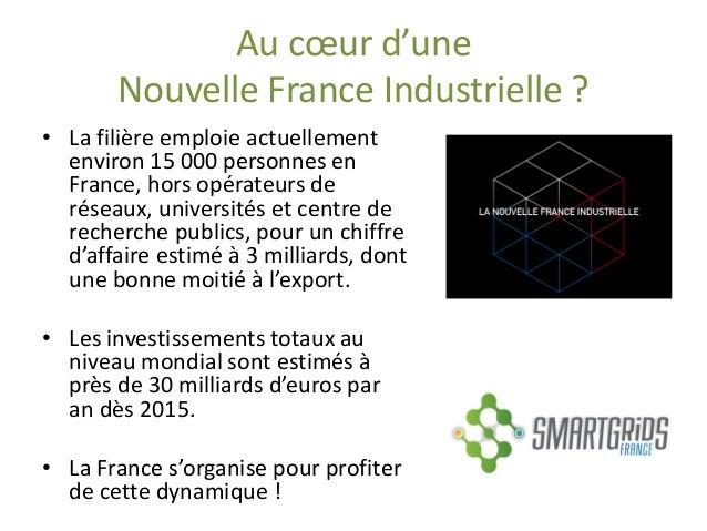 Au coeur d'une Nouvelle France Industrielle ?  •La filière emploie actuellement environ 15 000 personnes en France, hors o...