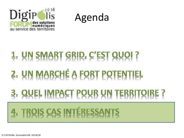 Agenda  O.CATEURA. Grenoble EM. 2014/10