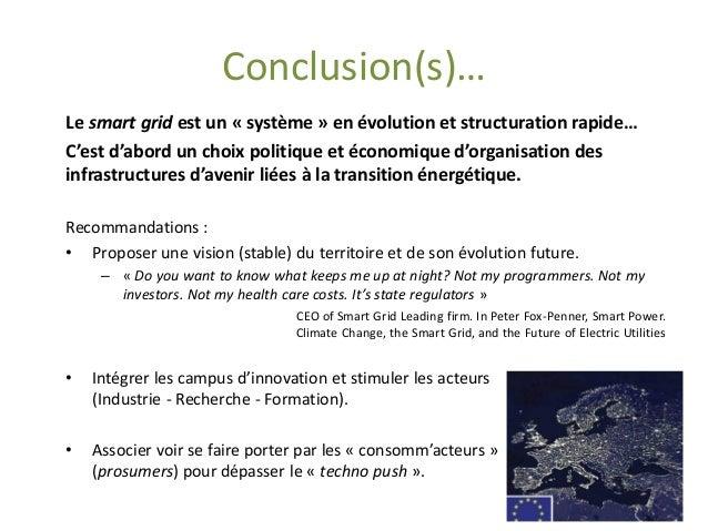 Les Smart Grids  Que faut-il en attendre ?  Quelles opportunités pour les territoires ?  Olivier CATEURA, PhD.  olivier.ca...