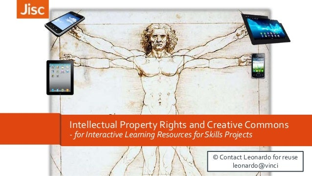 21 Nov 2014  London  Intellectual Property Rights and Creative Commons  - for Interactive Learning Resources for Skills Pr...