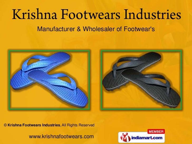Manufacturer & Wholesaler of Footwear's<br />