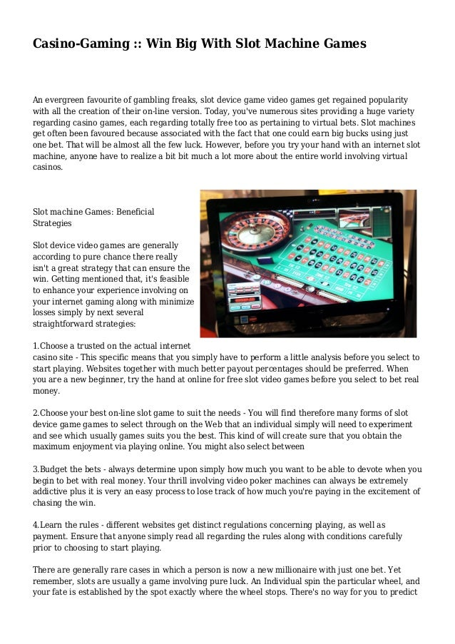 Big wheel strategy casino