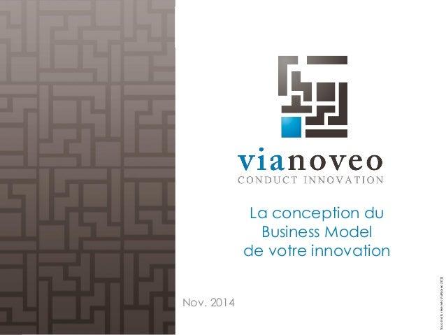 Tous droits réservés ViaNoveo 2011  La conception du Business Model de votre innovation  Nov. 2014