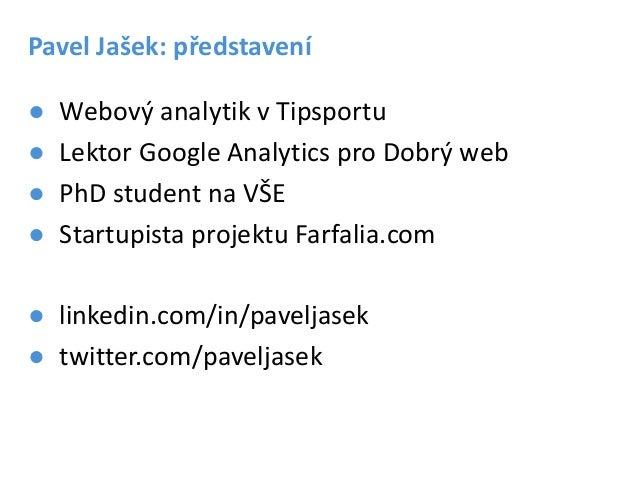 Webová analytika pro webdesign Slide 2