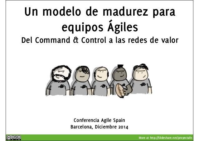 Un modelo de madurez para  Del Command & Control a las redes de valor  More at http://Slideshare.net/proyectalis  equipos ...