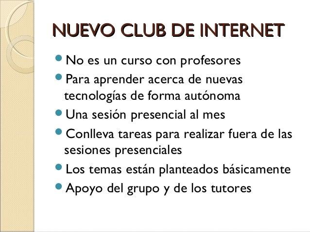 141203 Proyecto nuevo Club de Internet Slide 3