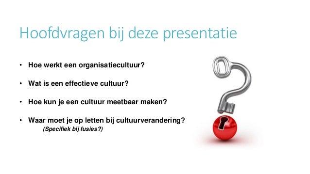 141205 presentatie cultuur en cultuurverandering Slide 2
