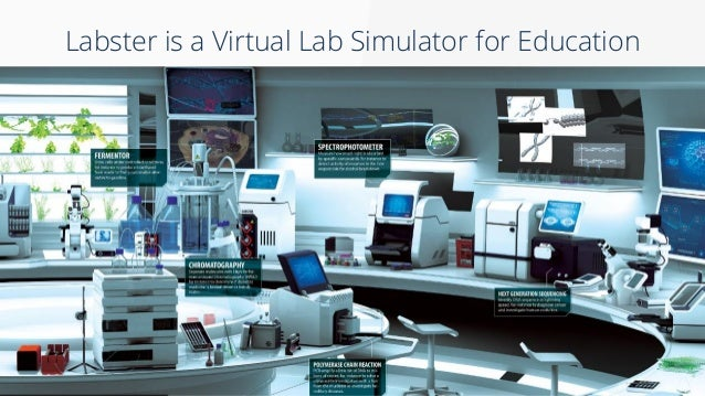 virtual lab The virtual labs are fully interactive simulations in which students perform experiments, collect data, and answer questions to assess their understanding.