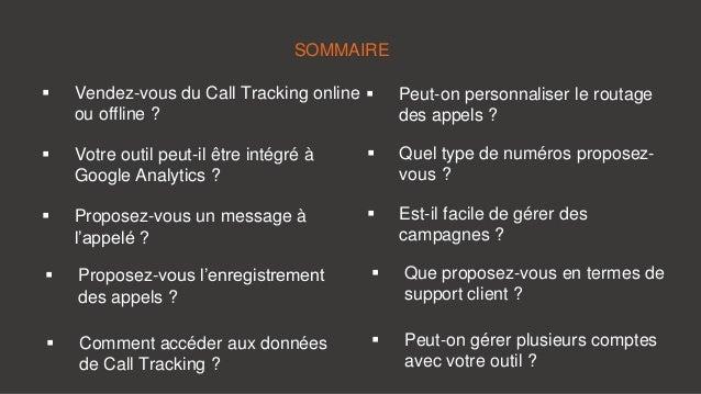 10 questions à poser à un vendeur de Call Tracking Slide 2