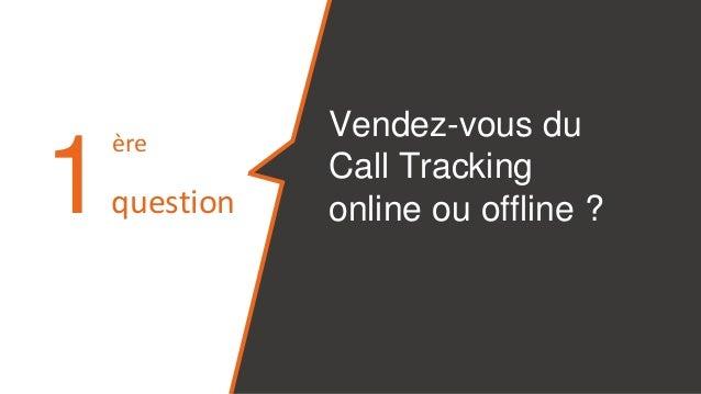 10 questions à poser à un vendeur de Call Tracking Slide 3