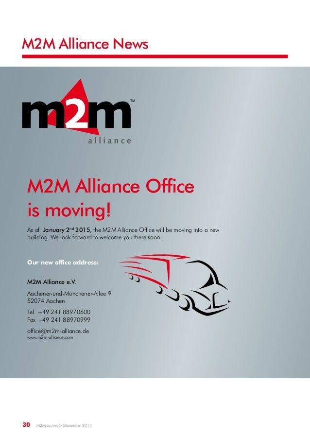 M2M Journal Issue 24 December 2014