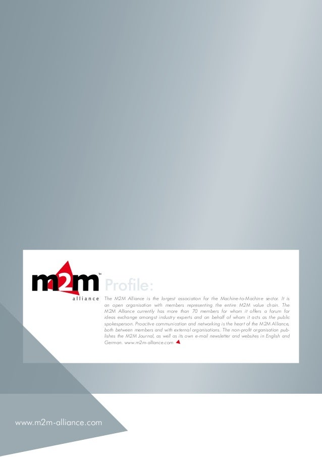M2M Journal Issue 24 December 2014