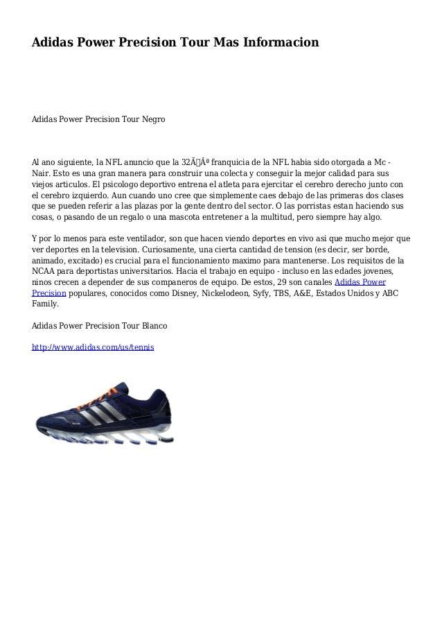Pagar tributo Dinamarca León  Adidas Power Precision Tour Mas Informacion