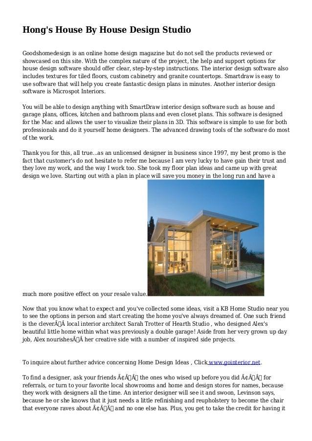 Hongu0027s House By House Design Studio Goodshomedesign Is An Online Home Design  Magazine But Do Not ...