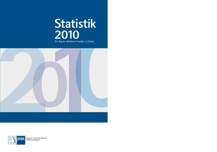 0021                               Statistik                               2010                               Die Region H...