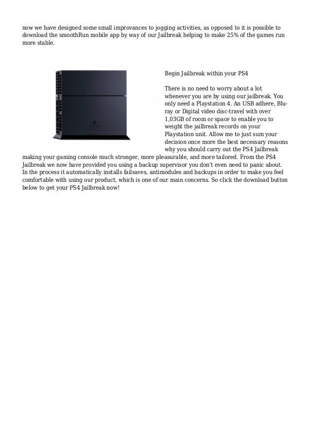 Get free Playstation 4 jailbreak