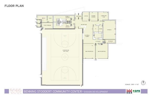 Community Recreation Center Floor Plans Thefloors Co
