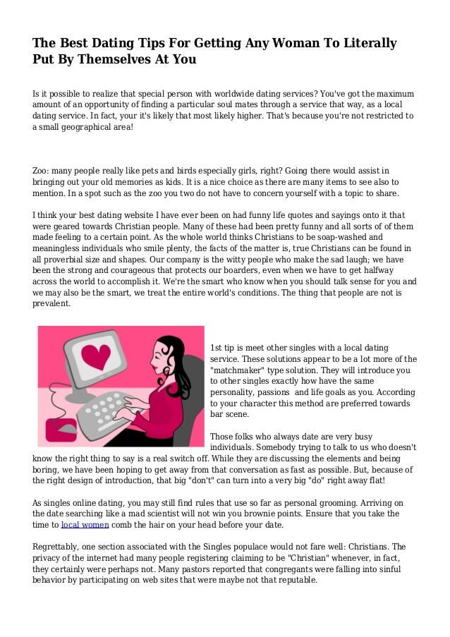 hvordan å svare på en kvinne online dating profil