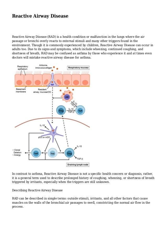 reactive airway disease adult