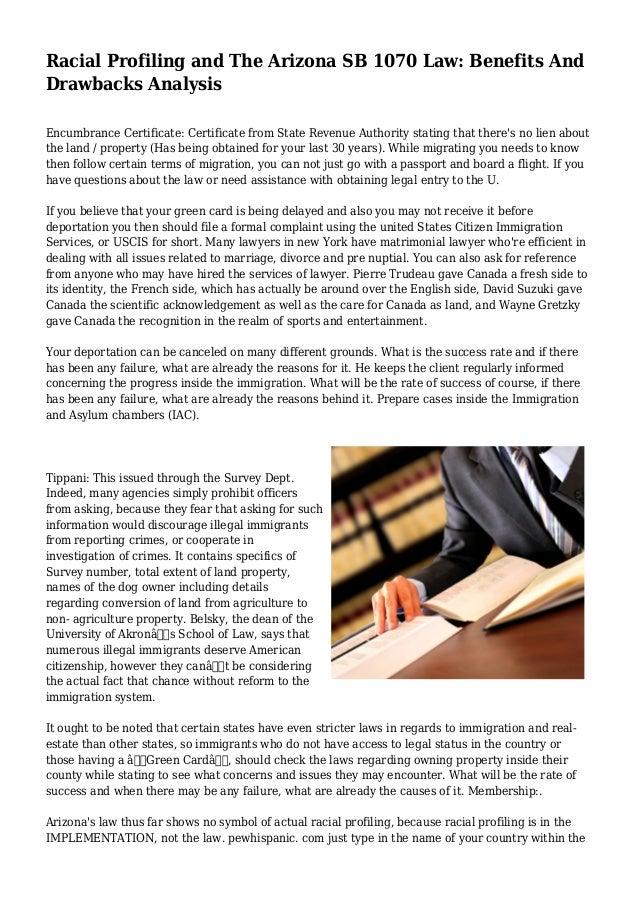 arizona sb 1070 essay