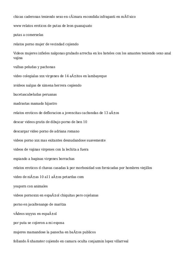 Anal putas peruanas videos gratis