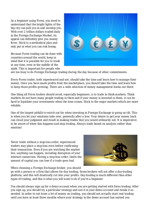 Rewarding Insight On Ways To Trade On The Foreign Exchange