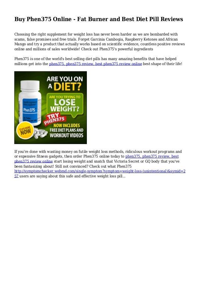 phen375 diet plan free