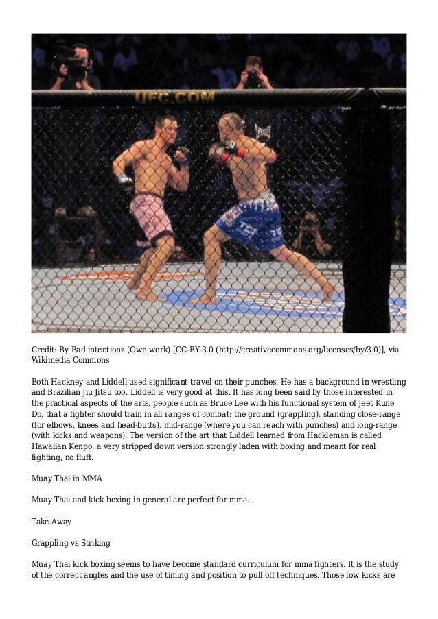 Best Striking Martial Arts For Mma