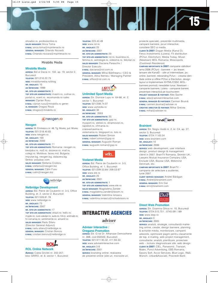 Ghidul Companiilor New Media Slide 2