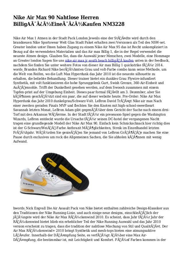 Nike Air Max 90 Nahtlose Herren BilligA Eine Kaufen NM3228