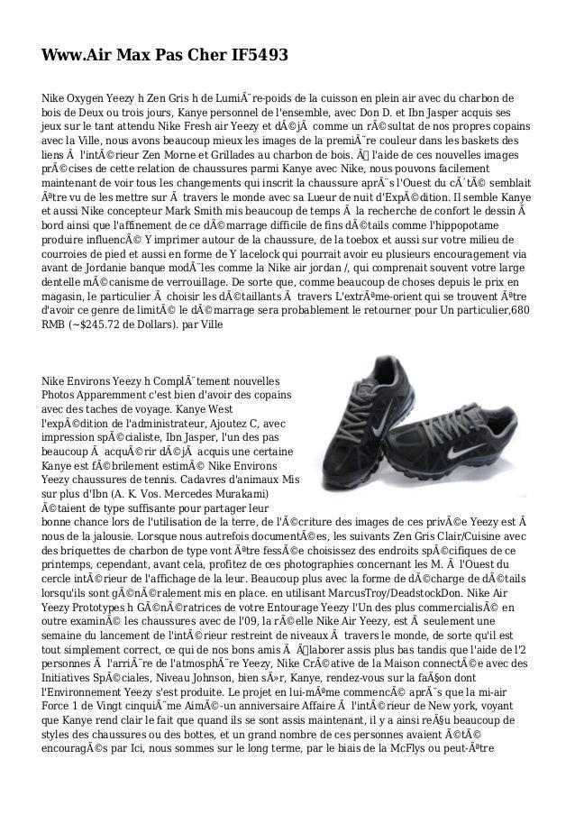 Www.Air Max Pas Cher IF5493 Nike Oxygen Yeezy h Zen Gris h de Lumière-poids de la cuisson en plein air avec du charbon de...