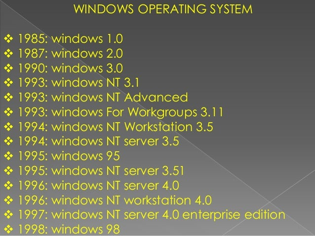Windows nt frequently asked questions (faq) single file version.