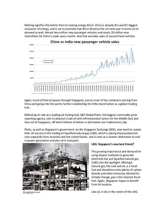 SARAH PLATTES Singapore oil & gas paper